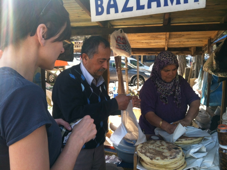 Turkish bakery at the bazaar