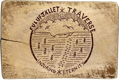 wooden logo