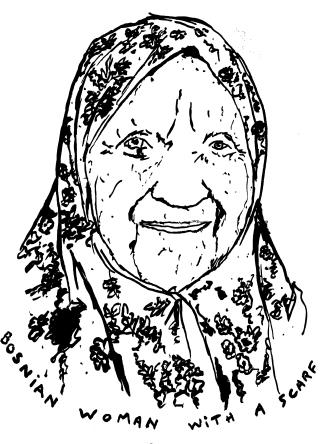 bosnian woman